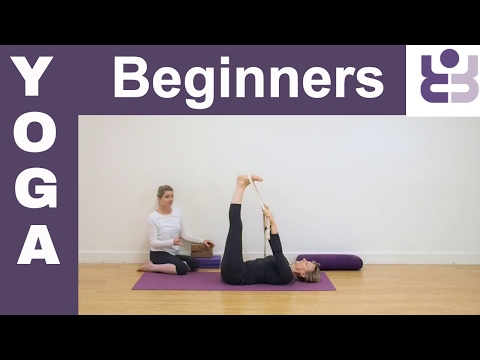 Beginners Yoga -  20 minutes Yoga sequence. Yoga for Beginners.  Class 4. (Subtitles)
