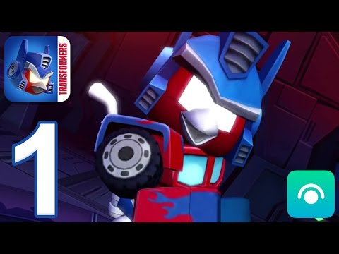 Angry Birds Transformers - Gameplay Walkthrough Part 1 - Saving Bumblebee (iOS, Android)