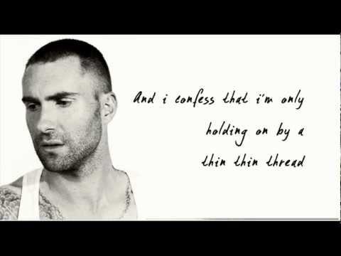 Maroon 5 - Sad (Lyrics On Screen)