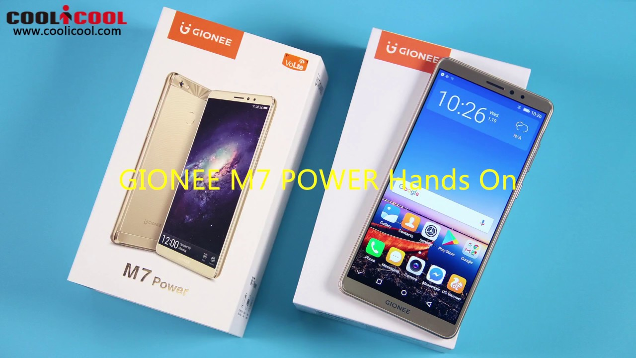 GIONEE M7 POWER Hands On