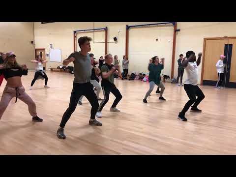 HHDS - October 17 - Advanced Group (Damita Jo Freeman), Nathaniel's Routine