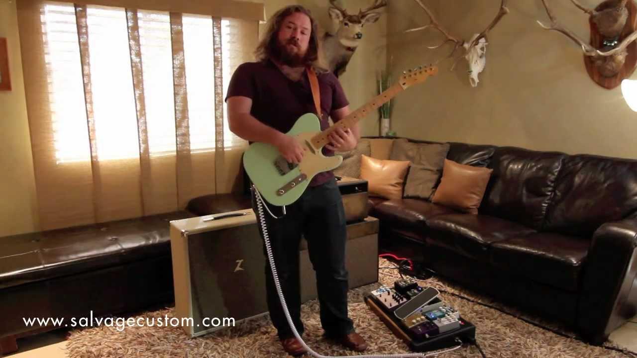 Salvage Custom 2x10 Speaker Cab Demo vs Dr. Z 4x10 - YouTube
