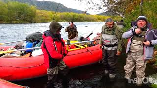 Камчатка рыбалка на реке Опала