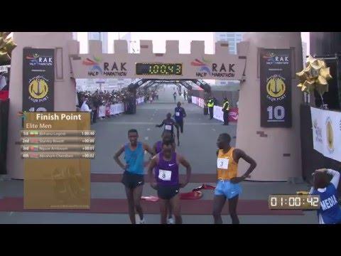 Ras Al Khaima Half Marathon 2016 GFX