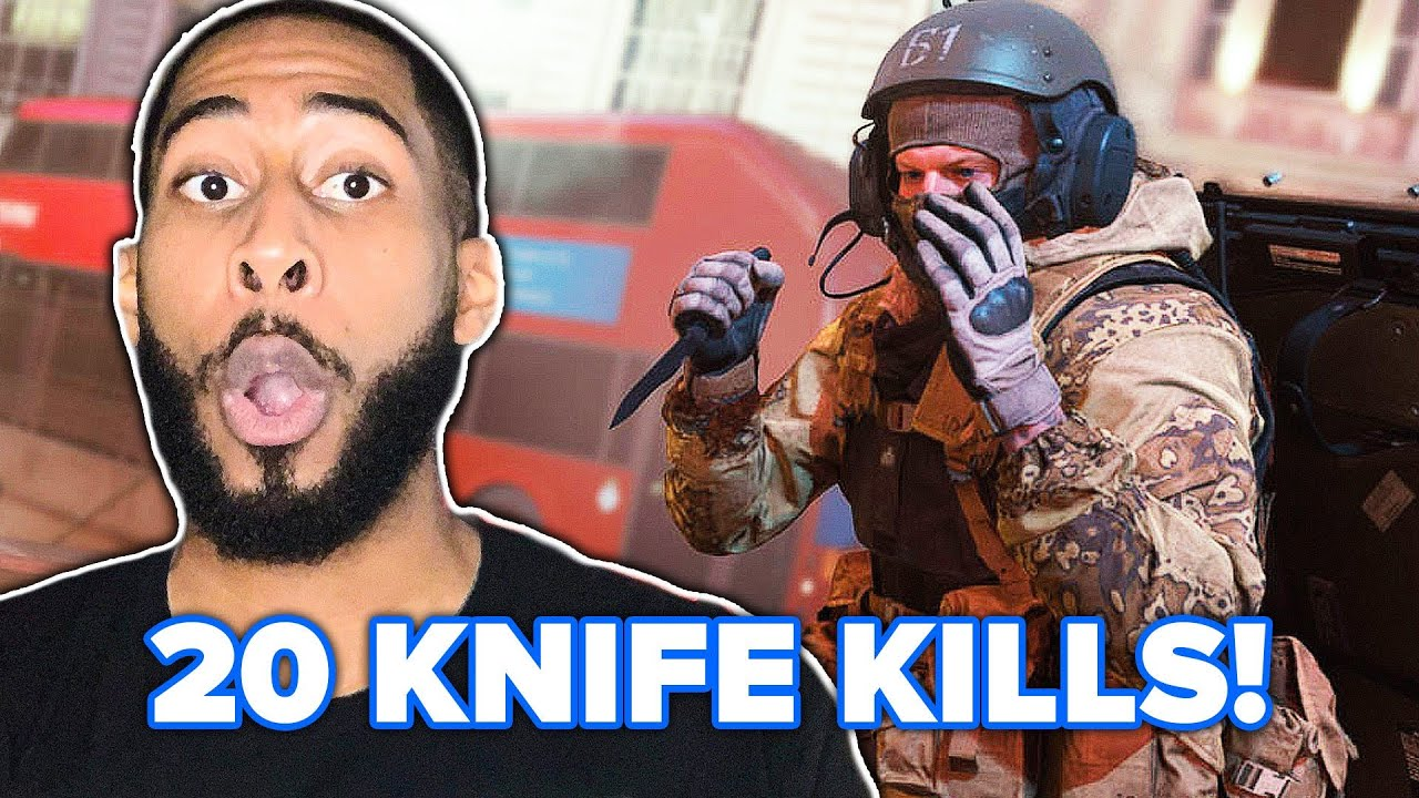 We Play Call of Duty Mobile With Only Knives