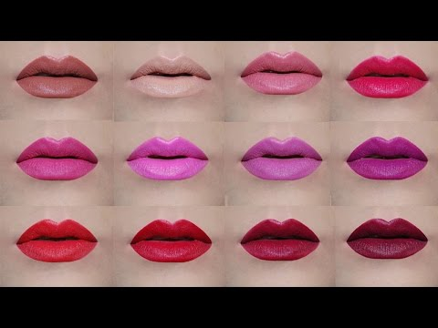 avon-true-color-perfectly-matte-lipsticks-|-lip-swatches-|-delia-ahmed