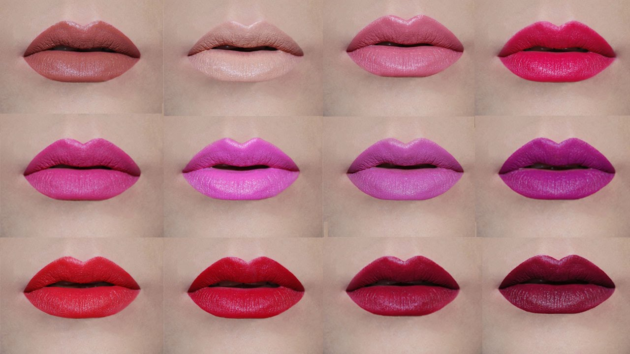 Avon True Color Perfectly Matte Lipsticks Lip Swatches Delia