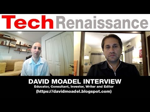 David Moadel Interview - Cryptocurrencies, Connecting Gateways, Equities Markets & Interest Rates