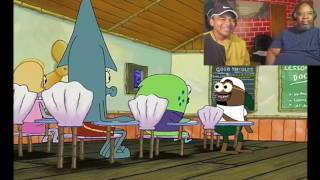 Dad Reacts to When your HOOD classmate is annoying (Spongebob)