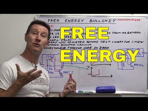 EEVblog #708 - Free Energy Overunity BULLSHIT!