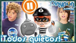 PAUSE CHALLENGE con Jorge y Daniel ⏸😱 ¡El reto más difícil para los Pinypon Action!