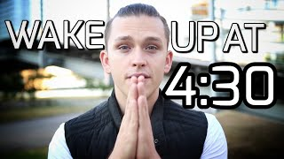 How waking up at 4:30 am is changing my life