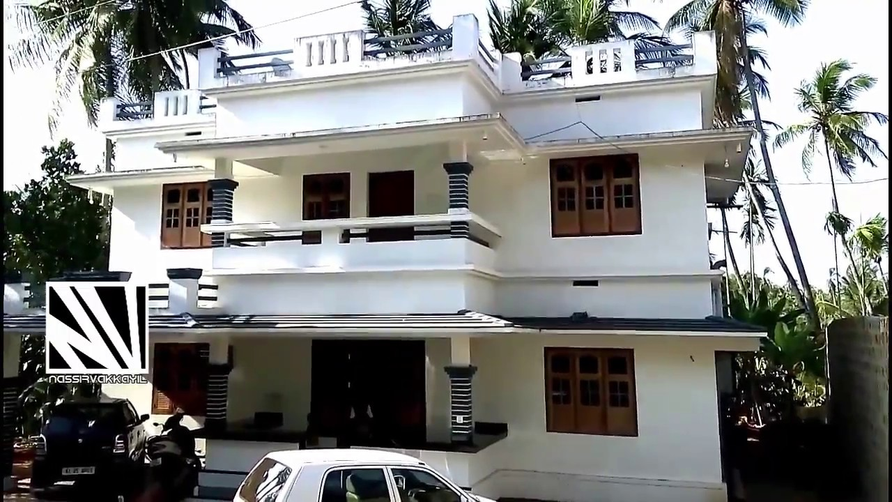 Kerala house model low cost beautiful house video 2017 for Kerala model house photos with details