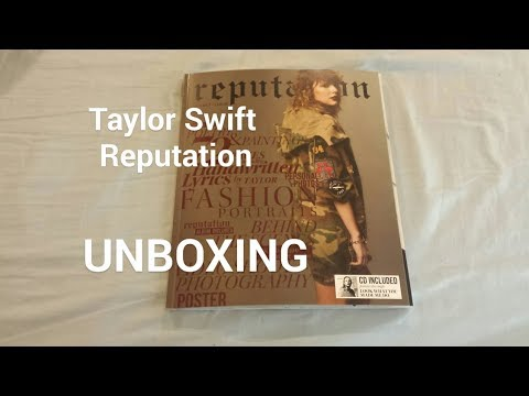 TAYLOR SWIFT REPUTATION (MAGAZINE SPECIAL EDITION) VOLUME 2 | UNBOXING
