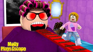 Roblox Escape Crazy Grandma Obby With Molly! - The Toy Heroes Games