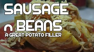 Simple Sausage & Baked Beans Recipe