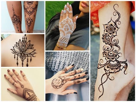50+ Delicate Henna Tattoo Designs Ideas for Summer