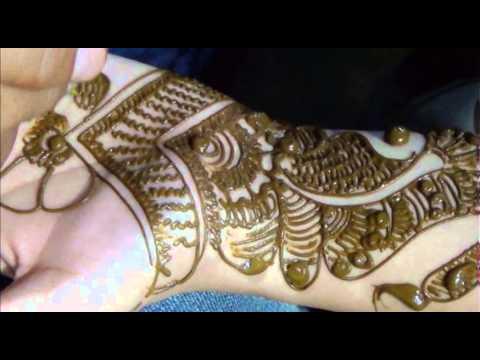 How To Do Henna Mehendi On Hand Draw Bridal Indian Mehndi Tattoo