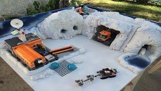 LEGO City - Arctic base camp diorama
