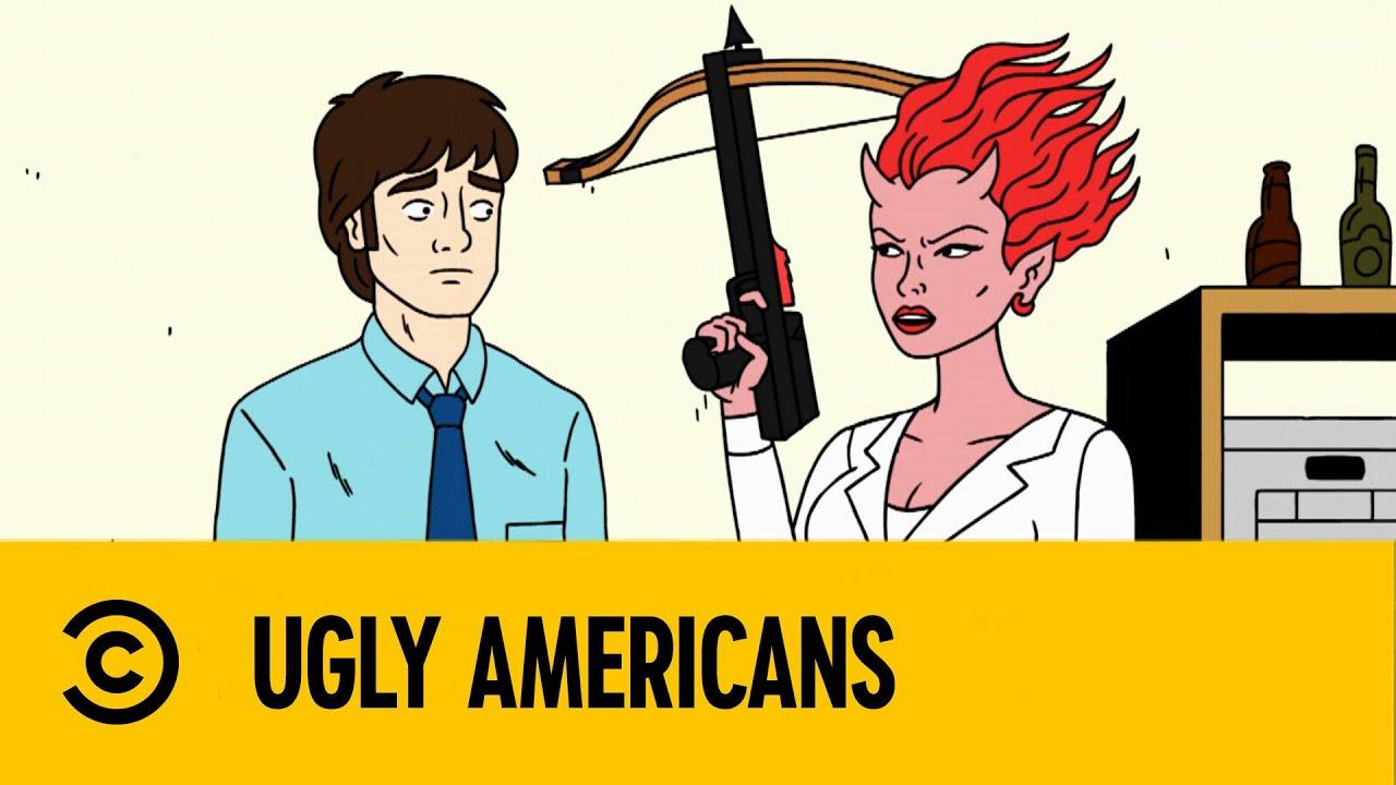¡Me Matarán Brutalmente! | Ugly Americans | Comedy Central LA