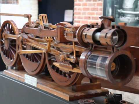 Walschaerts Locomotive Valve Gear Model Youtube