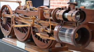 Walschaerts Locomotive Valve Gear Model