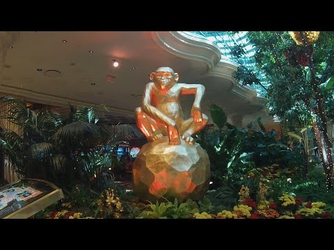Wynn & Encore 2016 Chinese New Year  Decorations- Year of the Monkey
