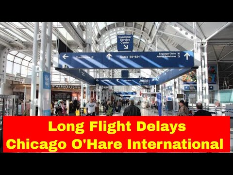 Do not Travel | Long Flight Delays at Chicago O'Hare Airport | Applaud Events
