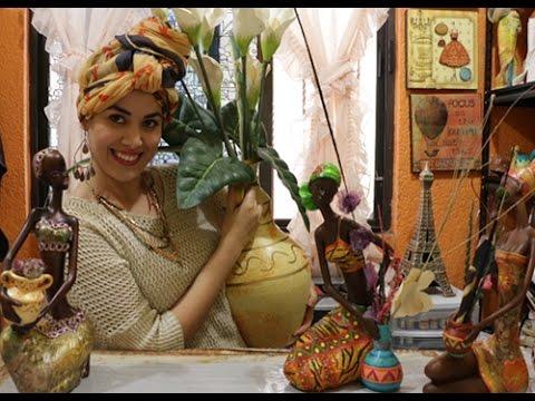 Especial jarrones para africanas de cer mica youtube - Jarrones de ceramica ...