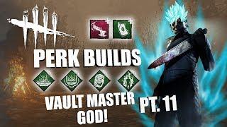 VAULT MASTER GOD! PT. 11 | Dead By Daylight MICHAEL MYERS PERK BUILDS