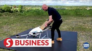 Irish company uses drones to deliver essentials
