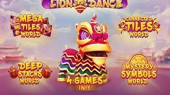 Lion Dance Online Slot from Red Tiger Gaming with 4 Games in 1