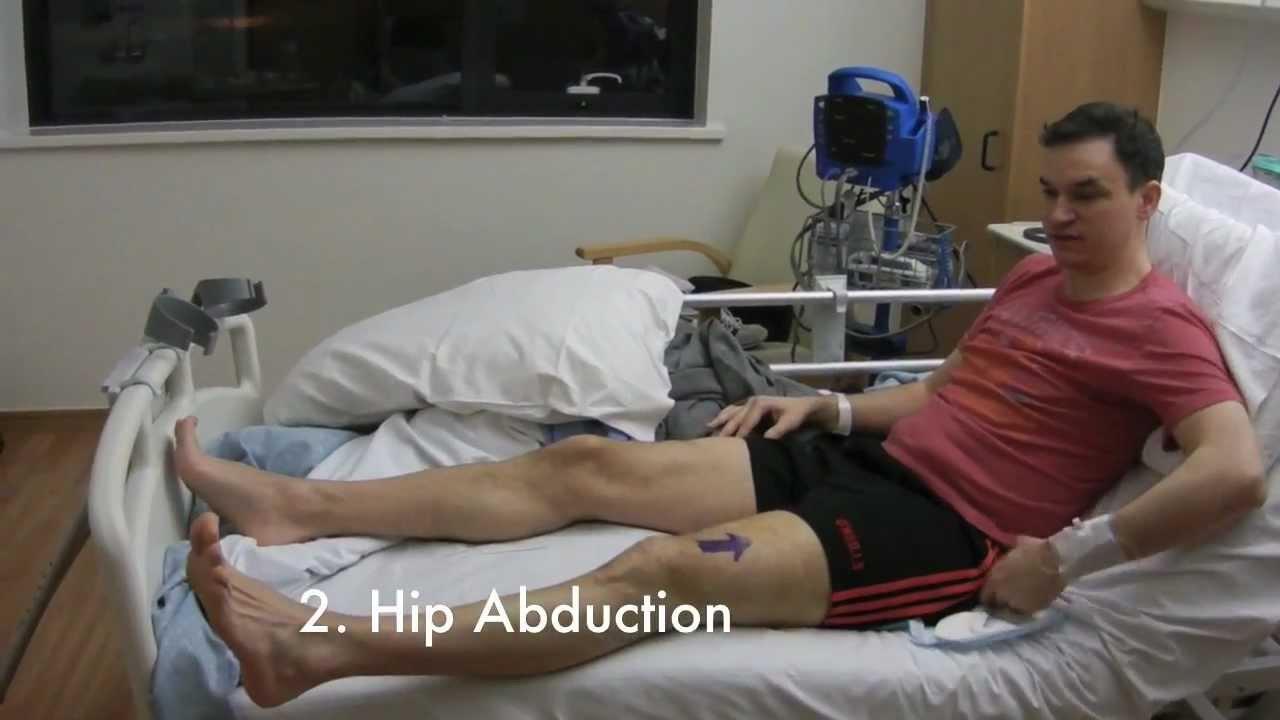 2. My Hip Arthroscopy - Recovery Day 0 - YouTube