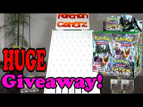 Fates Collide Booster Box GIVEAWAY!!! [Pokemon Gamerz Show]