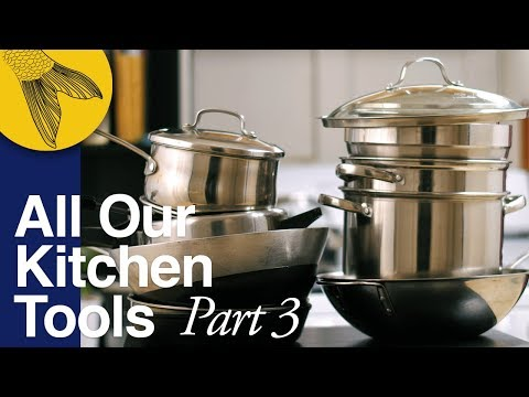 All Our Kitchen Tools and Utensils: Bengali Kitchen Setup—Part 3
