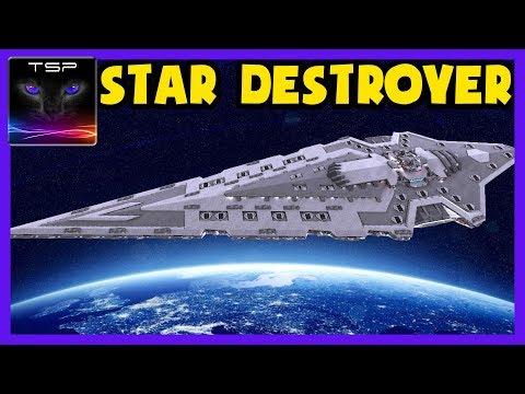 Avorion ► Super Massive Progenitor Class STAR DESTROYER Build