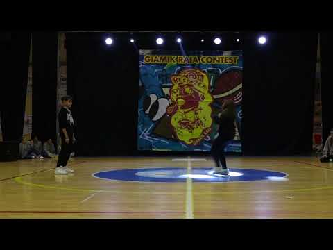 Giamik Raia Dance Contest - Hip Hop Battle Under 14
