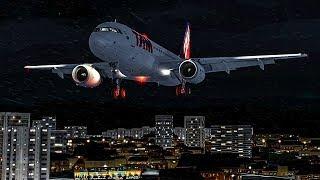 Airbus A320 Crash in Brazil | Nightmare Runway | Tam Airlines Flight 3054