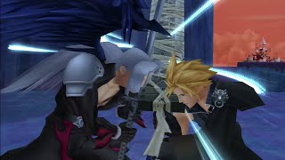 Kingdom Hearts 2.5 HD - Sephiroth *No Damage with Restrictions* (LV1 Critical Mode) + Scenes