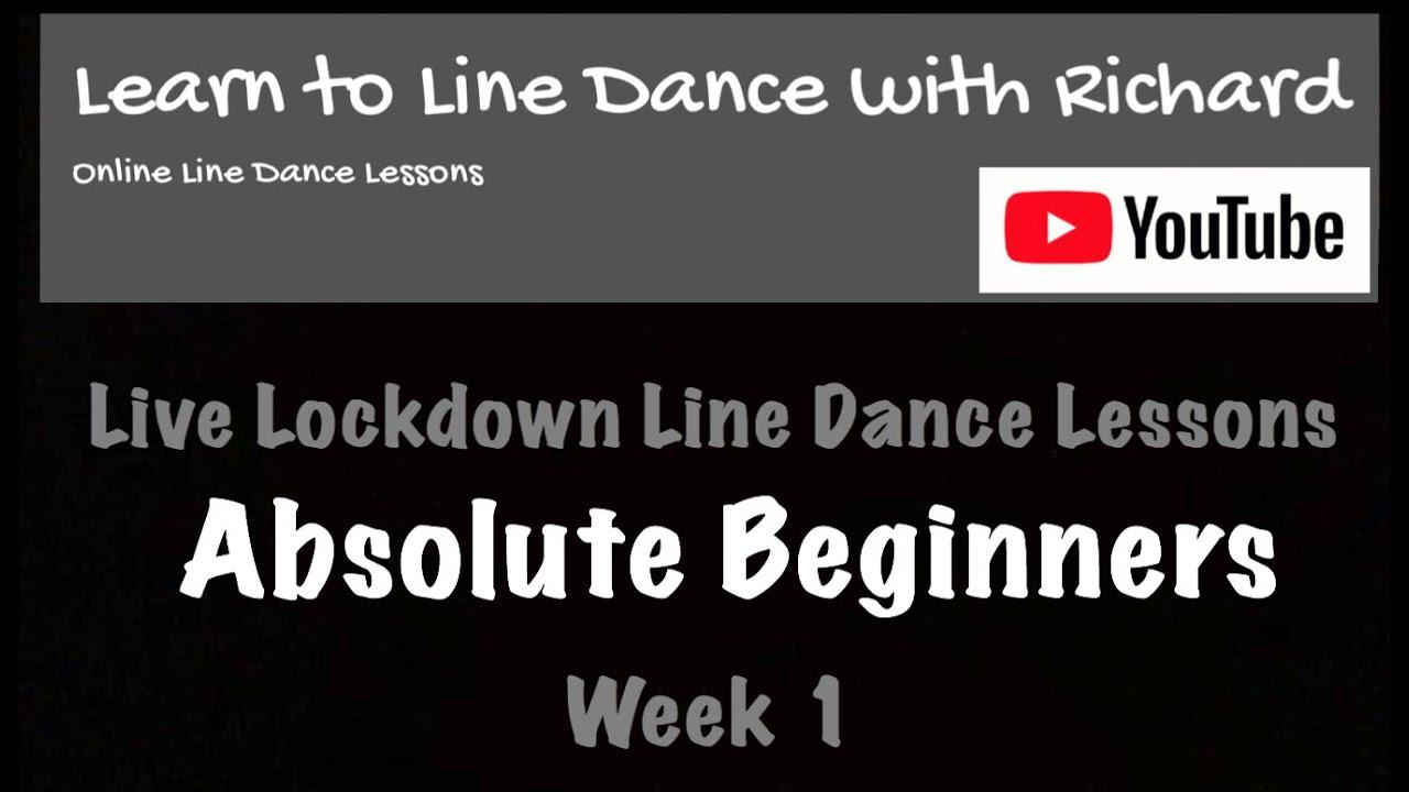 Live Lockdown Line Dance Lessons - Week 1 - Absolute Beginners - 1/5/20