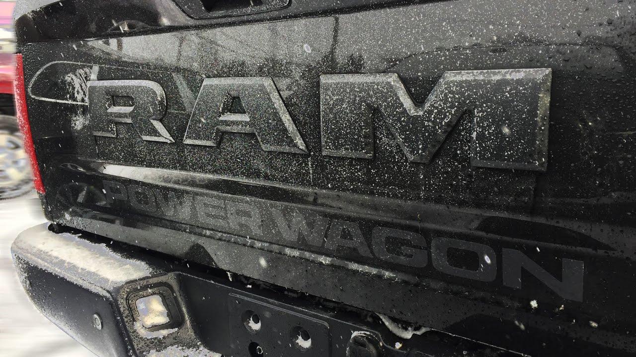 2017 ram 2500 power wagon for sale in huntsville ontario youtube. Black Bedroom Furniture Sets. Home Design Ideas