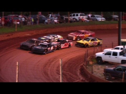 Winder Barrow Speedway Modified Street Feature Race 9/5/15