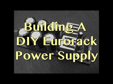 Building a DIY Eurorack Power Supply | Tutorial