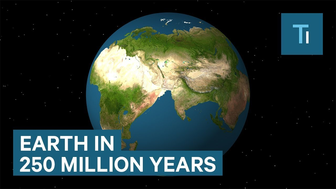 Map Of Australia 50 Million Years Ago.How Earth Will Look In 250 Million Years