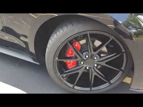 2016 Mustang Velly With Niche Misano M117 And Red