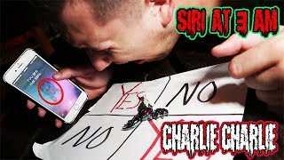 One of Ryan Pownall's most viewed videos: (YOU ARE NOT SAFE?!) DONT PLAY CHARLIE CHARLIE WITH SIRI AT 3AM! *THIS IS WHY* (RUN!)