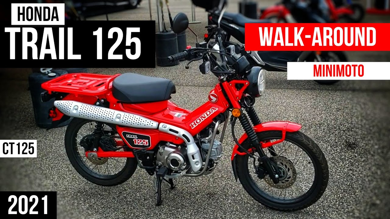 2021 Honda Trail 125 / CT125 Walkaround   125cc miniMOTO Motorcycle