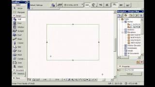01_Запуск проекта и настройка параметров этажей Archicad 12
