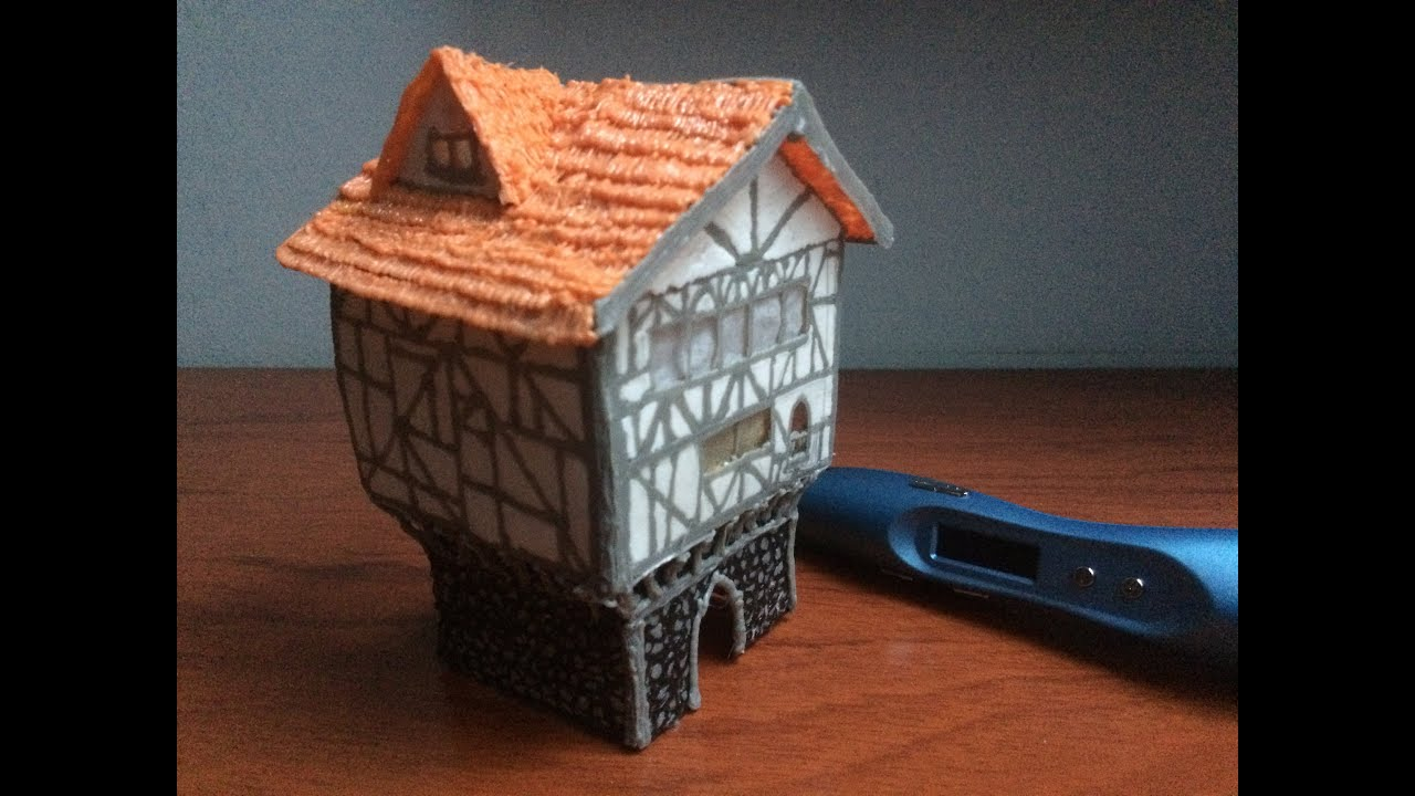 3D PEN Creations | Making Medieval Buildings | Game Of Thrones | How To Make  A House | Tutorial   YouTube