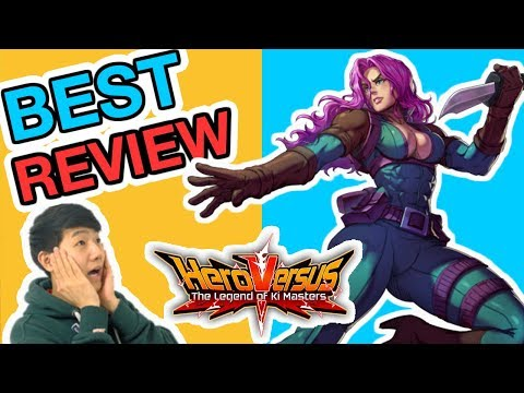 HeroVersus Mobile Fighting Game - All Character Review Guide